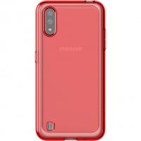 Чехол Araree Samsung Galaxy A01 Красный