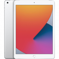 "Apple iPad 10.2"" 2020 128Гб Wi-Fi + Cellular Серебристый (MYMM2)"