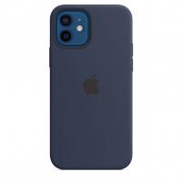 Чехол Silicone Case iPhone 12 mini Синий