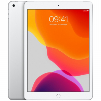 "Apple iPad 10.2"" 2019 128Гб Wi-Fi + Cellular Серебристый (MW6F2)"