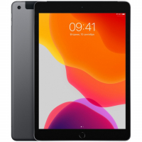 "Apple iPad 10.2"" 2019 128Гб Wi-Fi + Cellular Серый Космос (MW6E2)"