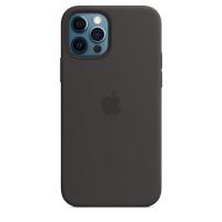 Чехол Silicone Case iPhone 12 Pro Max Чёрный