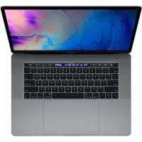 "Apple MacBook Pro 15"" / Core i7 2,6 ГГц / 16 Гб / 256 Гб SSD / Radeon Pro 555X / Touch Bar / Серый космос (MV902)"