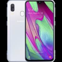 Samsung Galaxy A40 2019 A405F 4/64Гб Белый