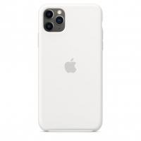 Чехол Silicone Case iPhone 11 Pro Max Белый