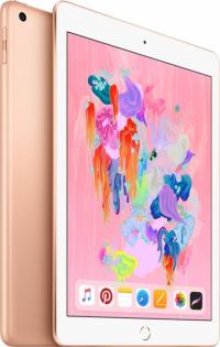 """Apple iPad 9.7"""" (2018) 128Gb Wi-Fi Золотистый"""