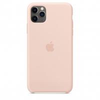 Чехол Silicone Case iPhone 11 Pro Max Розовый