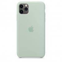 Чехол Silicone Case iPhone 11 Pro Max Мятный