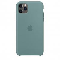 Чехол Silicone Case iPhone 11 Pro Max Светло-зелёный