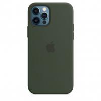 Чехол Silicone Case iPhone 12 / 12 Pro Зелёный