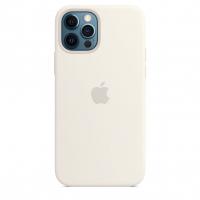 Чехол Silicone Case iPhone 12 Pro Max Белый