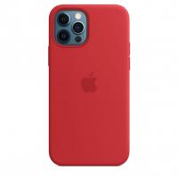 Чехол Silicone Case iPhone 12 Pro Max Красный