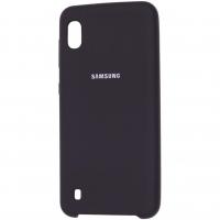 Чехол Silicone Cover Samsung Galaxy A10 Чёрный