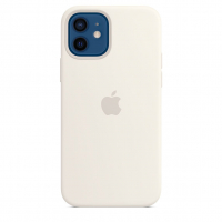 Чехол Silicone Case iPhone 12 mini Белый