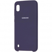 Чехол Silicone Cover Samsung Galaxy A10 Синий