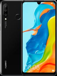 Huawei P30 Lite 4/128Гб Полночный Чёрный