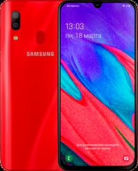 Samsung Galaxy A40 2019 A405F 4/64Гб Красный