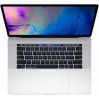 "Apple MacBook Pro 15"" / Core i7 2,6 ГГц / 16 Гб / 256 Гб SSD / Radeon Pro 555X / Touch Bar / Серебристый (MV922)"