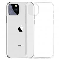 Чехол iPhone 11 Pro Прозрачный Силикон
