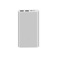 Xiaomi Mi Power Bank 3 10000 мАч Серебристый