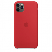 Чехол Silicone Case iPhone 11 Pro Max Красный