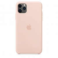 Чехол Silicone Case iPhone 11 Pro Max Розовый