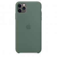 Чехол Silicone Case iPhone 11 Pro Max Зелёный