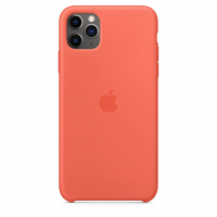 Чехол Silicone Case iPhone 11 Pro Max Коралловый