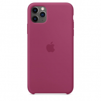 Чехол Silicone Case iPhone 11 Pro Max Гранат
