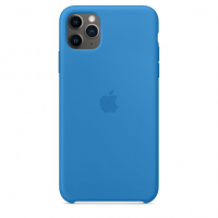 Чехол Silicone Case iPhone 11 Pro Max Синий