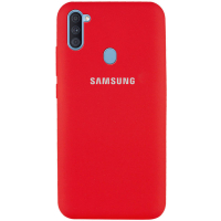 Чехол Silicone Cover Samsung Galaxy A11 Красный