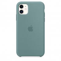 Чехол Silicone Case iPhone 11 Светло-зелёный