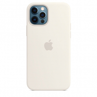 Чехол Silicone Case iPhone 12 Pro Max Белый