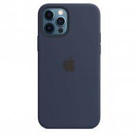 Чехол Silicone Case iPhone 12 Pro Max Синий