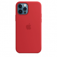 Чехол Silicone Case iPhone 12 Pro Max Красный