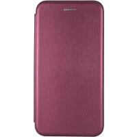 Чехол-книжка Samsung A51 Бордовый