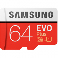 Samsung microSDXC 64Гб Evo Plus MB-MC64HA