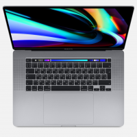 "Apple MacBook Pro 16"" / Core i7 2,6 ГГц / 16 Гб / 512 Гб SSD / AMD Radeon Pro 5300M / Touch Bar / Серый космос (MVVJ2)"