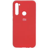 Чехол Xiaomi Redmi Note 8T Красный Силикон
