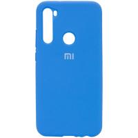 Чехол Xiaomi Redmi Note 8T Голубой Силикон