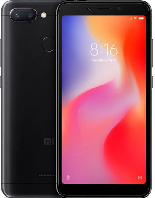 Xiaomi Redmi 6 4/64Gb Чёрный