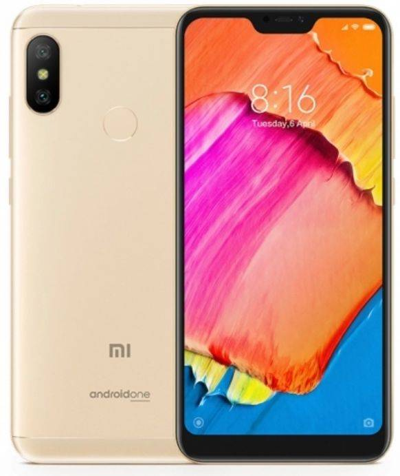 b35a67ccaeab8 Xiaomi Mi A2 Lite 4/64Gb Золотистый купить в Краснодаре по низкой ...